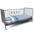 meldal single bed
