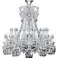 zenith chandelier 24l