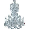 zenith chandelier 12l long