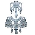 solstice chandelier 8l