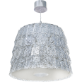 Tuile de Cristal Chandelier Medium size Frozen