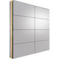 alucobond sz20 tray panel system