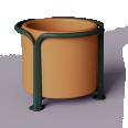 Mobilier urbain POA Pot 250 L