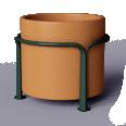 Mobilier urbain POA Pot 500 L