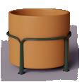 Mobilier urbain POA Pot 1000 L