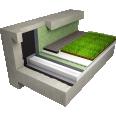 garden roof non accessible