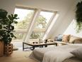 Fenetre de toit fixe pour verrieres planes bois