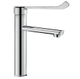 2565T1 Mechanical sink mixer with high spout