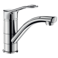 2510 Mechanical sink mixer with swivel spout