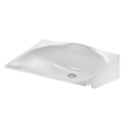 150022D Wall mounted MINERALSTEEL washbasin