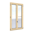 Windows Duoba with double glasing