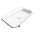 EMERSO Built in washbasin 420x720