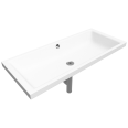 puro inset countertop washbasin 385x900