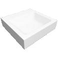 CONO Countertop washbasin 500x500