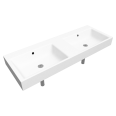 puro wall-hung double washbasin 460x1300
