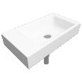 PURO Handrinse washbasin 300x550 No.3162