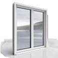 2 door leaf window Stylium