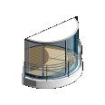 lumicene modèle applicable en immeuble collectif poutre béton préfabriqué et garde corps