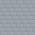 Flat-Lock Tile Facade (333 mm x 600 mm, horizontal, prePATINA blue-grey)