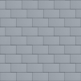 Flat-Lock Tile Facade (600 mm x 1500 mm, horizontal, prePATINA blue-grey)