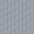 Flat-Lock Tile Facade (600 mm x 1500 mm, vertical, prePATINA blue-grey)