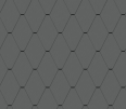 diamond tile facade (228 mm x 330 mm, prepatina graphite-grey)