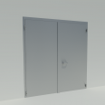 Double swing door EI2 30