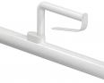 1449110 Porte-rouleau adaptable sur barre d'appui rabattable
