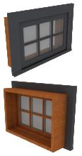 Window Awning 1Wx1H