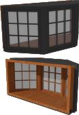 Ultra Window Casement 3 Wide X Series Bay 45Deg