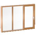 Glass sliding door CLEAR type B