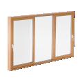 glass sliding door clear type k