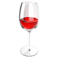 red wine glass bordeaux variant