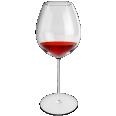 red wine glass pinot noir