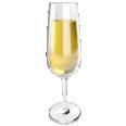 sparkling wine glass flute