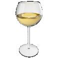 white wine glass chardonnay variant