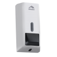 750 ml liquid soap dispenser, 255 x 120 x 100 mm, white abs