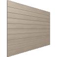 bardage bois finition gris brume