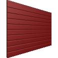 Facade Couleur Rouge rubis