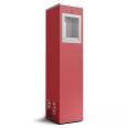 fontaine à eau rouge 1