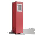 fontaine à eau rouge 2