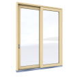 Lift and slide Door