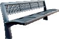 mesh bench