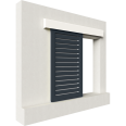 shutters alu straight blades 1 leaf