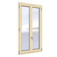 Windows 2 sash with triple glassing