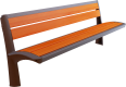 Wooden bench 2