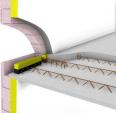 prédalle à rupteurs de ponts thermiques