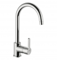75623 PRESTO SANIFIRST SINK MIXER TAP WITH HIGH SPOUT LVL0