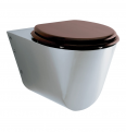 71604 PRESTO WC Toilet bowl wall front mounted for disable people LVL0