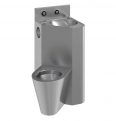 71710 presto combination unit washbasin and left wc - rear installation lvl0